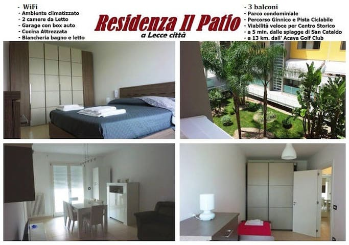 IL PATIO RESIDENCE in Lecce - 5 minutes to the sea