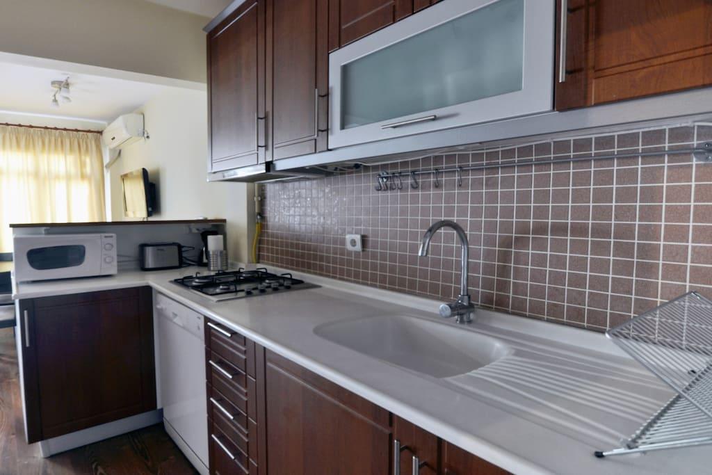 Full kitchen - upper level