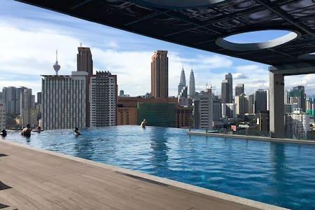 Great View of KLCC from Cozy Studio@Jln Pudu, KL 2 - Kuala Lumpur