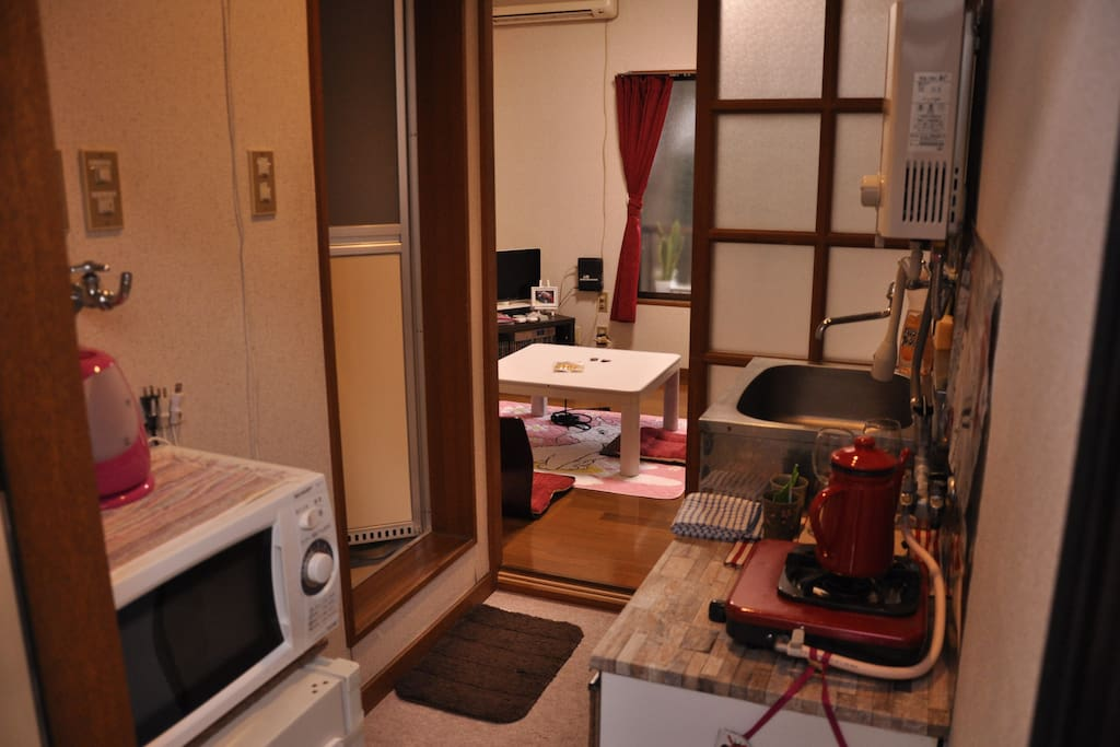 Kleines Zimmer.