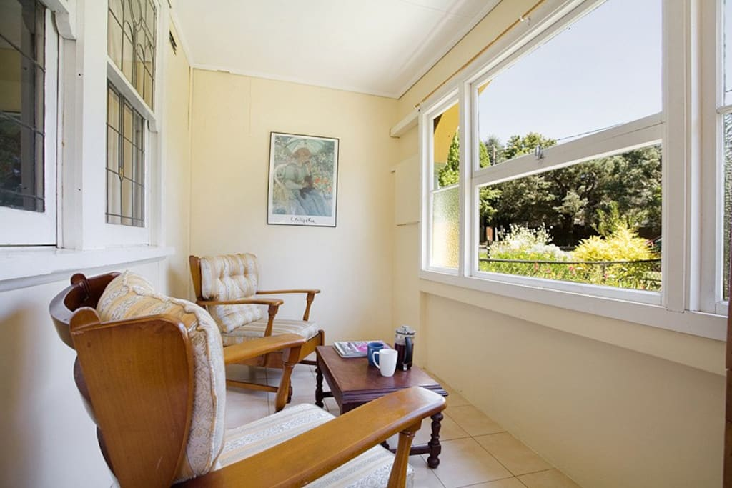 North facing sunroom - perfect for a quiet cuppa