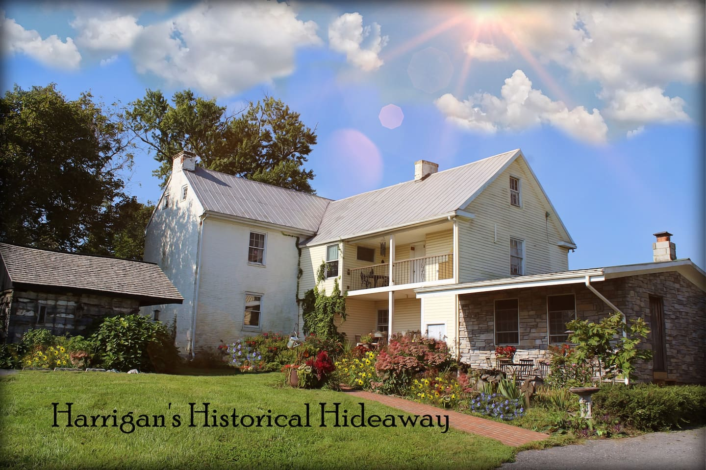 Maureen Harrigan is the owner of this lovely home, and hostess of her private, cozy guest room, Harrigan's Historic Hideaway. Maureen & Michael make all guests feel welcome.