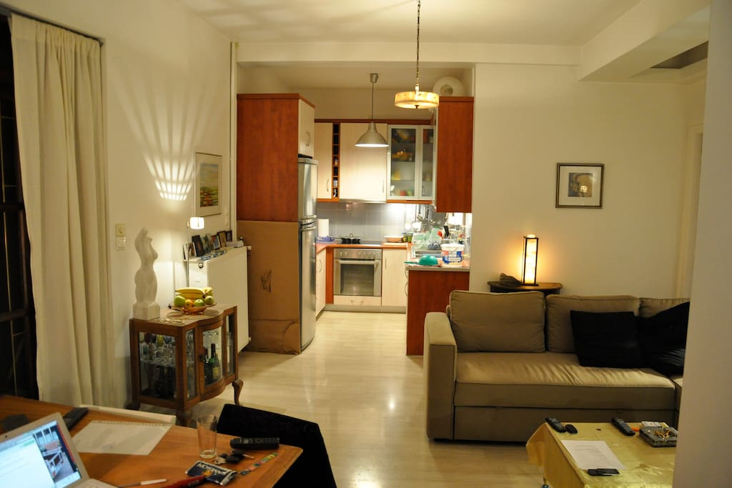 open kitchen with all facilities