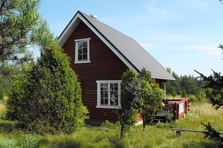 Loghouse on the island of Hiiumaa