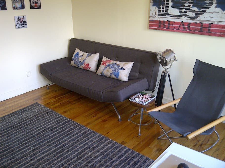 New BoConcept sleeper sofa. Very comfortable