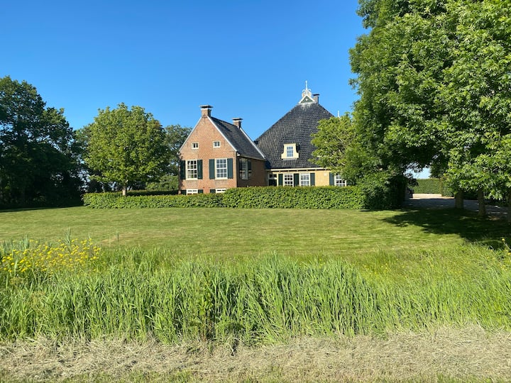 Prachtige boerderij in het hart van Friesland