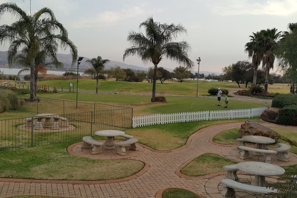 Golf Course On The Dam