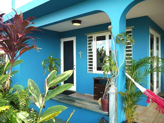 The Blue House - Borinquen - Casa