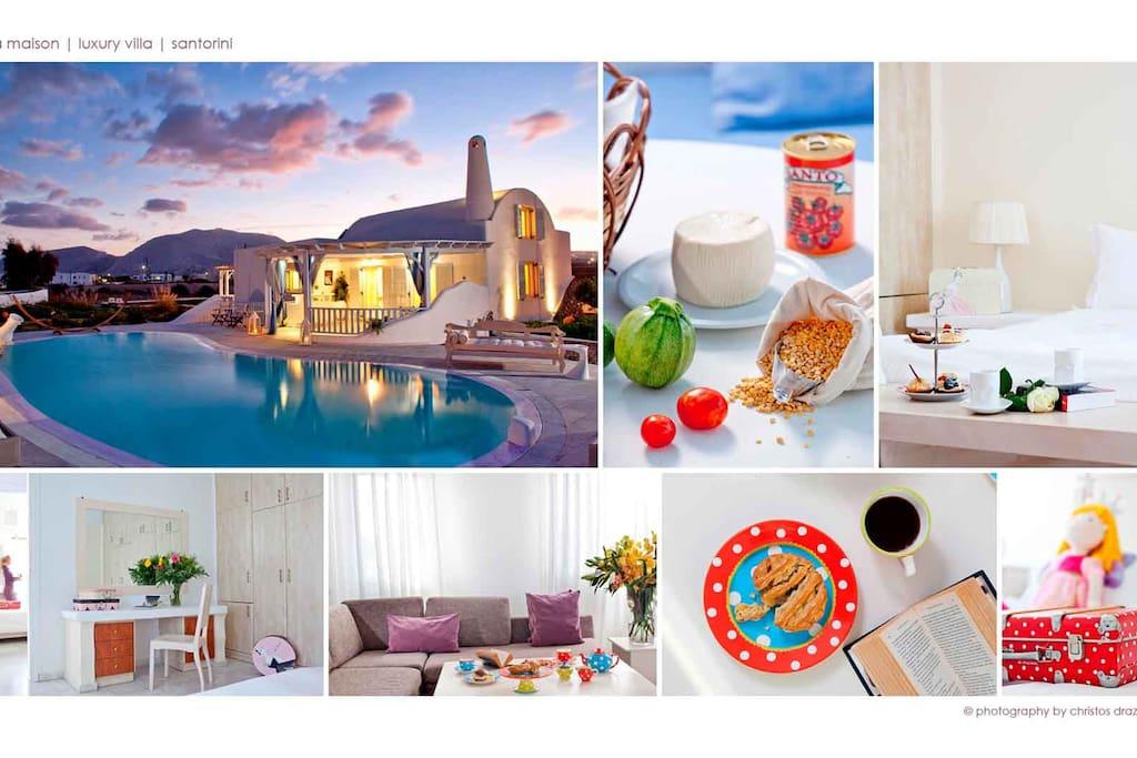 Santorini Private Villa La Maison - For you that seek absolute privacy!!!