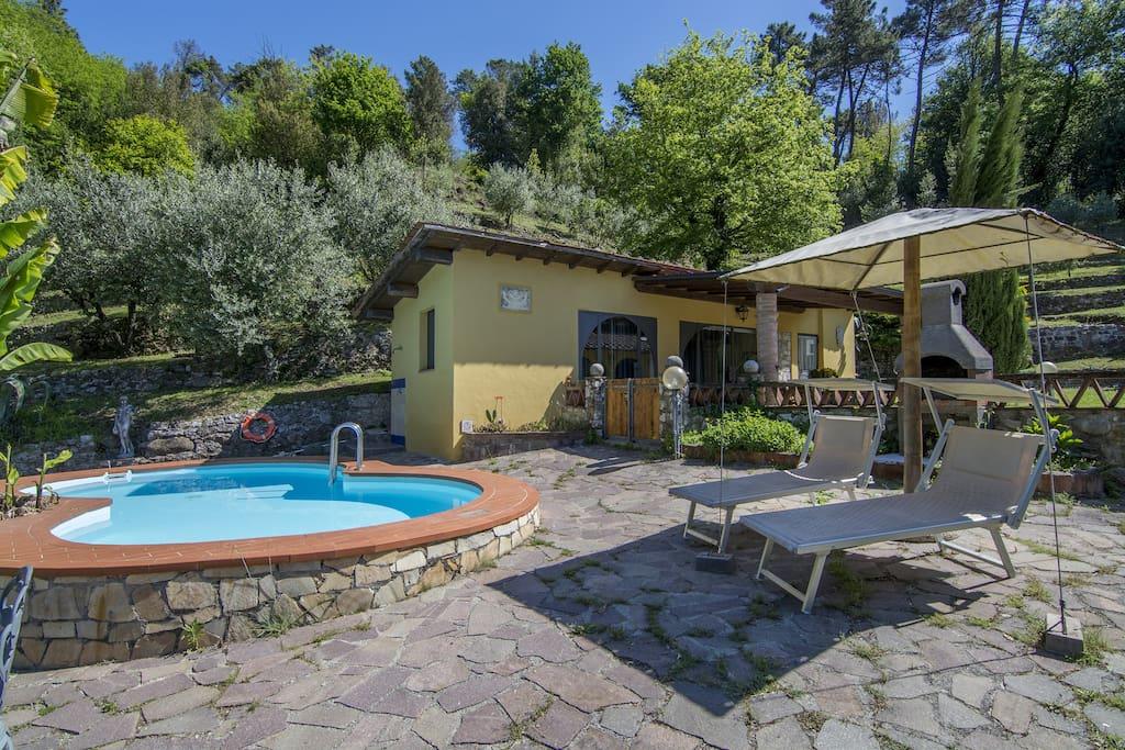 Toscane Collines Pr S De Lucca Piscine Priv E Maisons