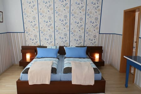 cozy double room / shower/toilet N2 - Bacharach - Inap sarapan