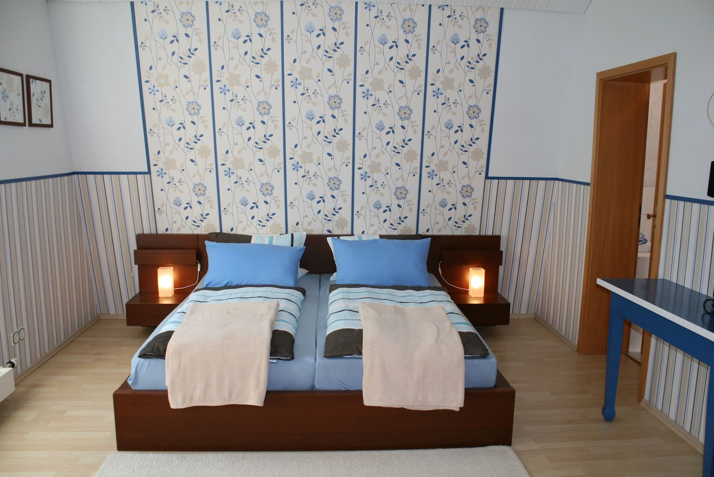 double room No. 2 / bed size 180x200 cm