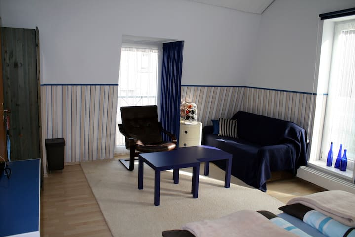 double room No. 2 / Couch could be also a bed for 1 or 2 more person