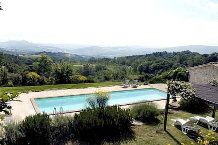 Contemporary private villa Umbria - Todi - Villa