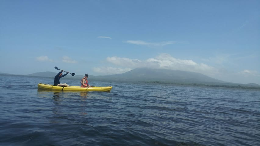 Some of the adventures that you can experience in Ometepe,  Offering the best professional guiding service and very good knowledge of the island in general (flora and fauna)