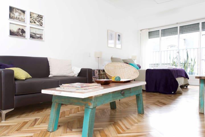 Cozy & Renovated Studio in Recoleta