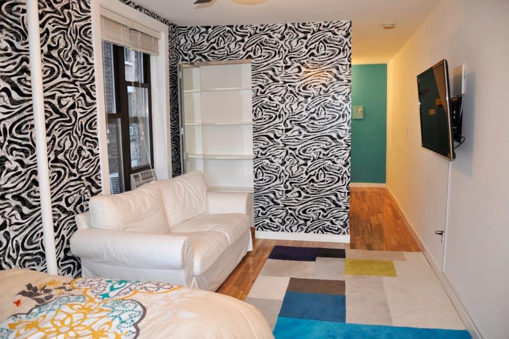 soho village charming studio appartements louer new york new york tats unis. Black Bedroom Furniture Sets. Home Design Ideas