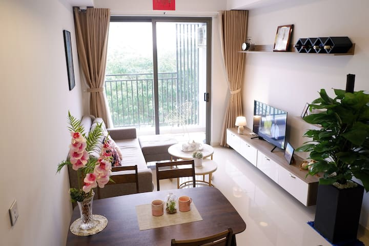 Full equipped living room