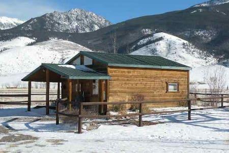 Elegantly rustic cabin w/loft bdrm - Livingston - Chalet