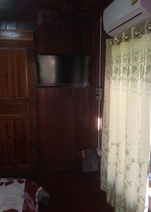 LED TV and Air conditioner