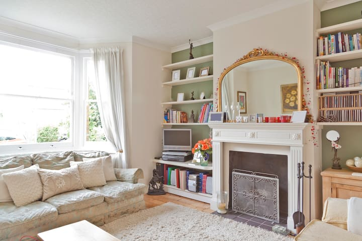 Beautiful Home near Hampton Court & London - Molesey - Casa