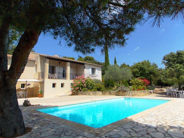 Villa en Provence-Ventoux  avec Piscine Nature Vue - Entrechaux - Casa de vacances