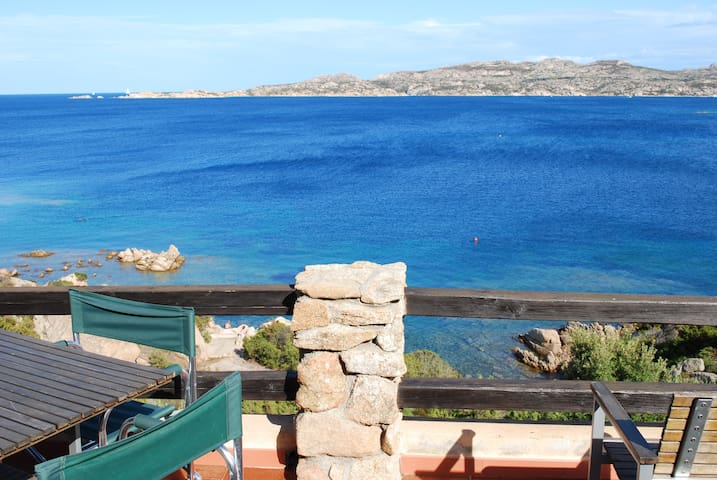 Villa at 50 meters from the sea