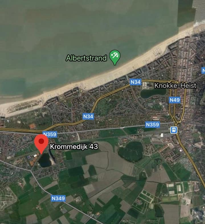 Cosy Lagunaresort Knokke Duinb. internet, equipped