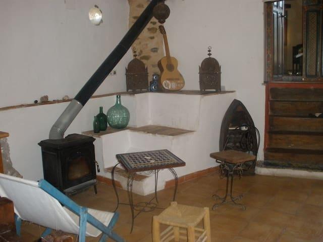 casa rural en bocairente, casa cuev - Bocairent - Casa
