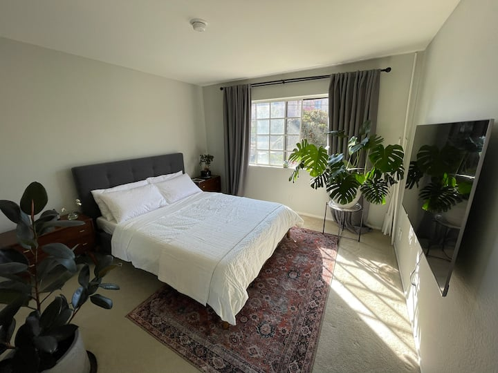 Sunny private room centrally located