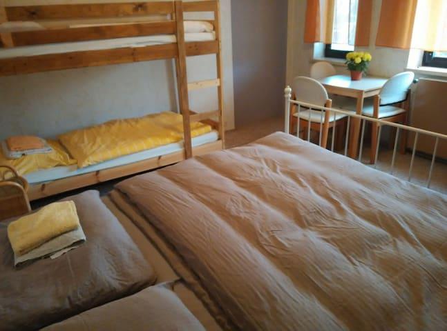 Room for 1-4 people, own garden, parking, Vienna - Wien - Talo