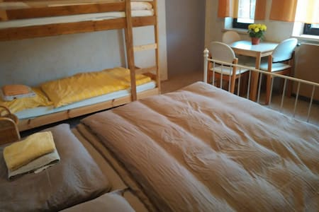Room for 1-4 people, own garden, parking, Vienna - Vienna - Ház