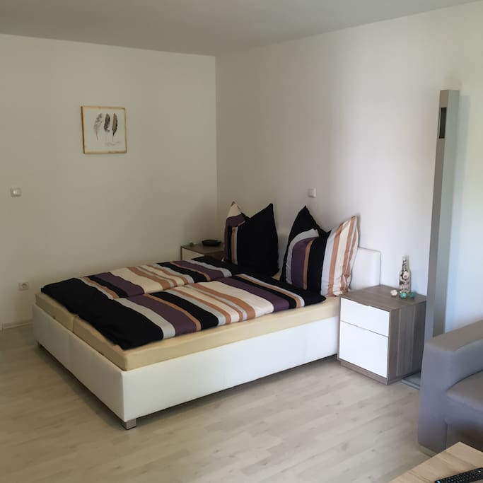 ferienwohnung mit flair apartments for rent in regensburg by germany. Black Bedroom Furniture Sets. Home Design Ideas