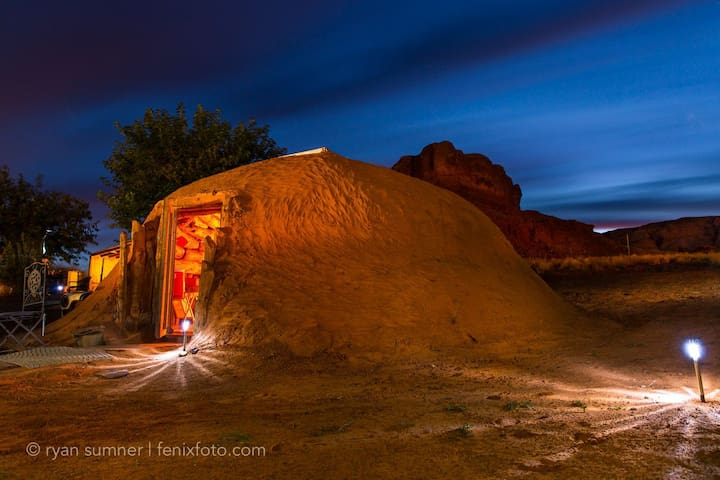 HoganBNB - Oljato-Monument Valley - Casa-Terra