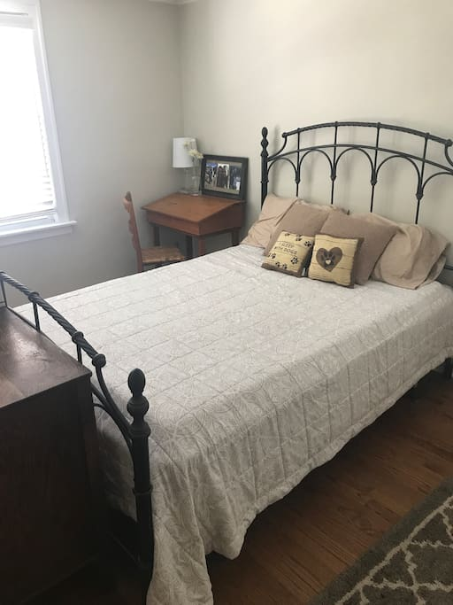 Your private guest room complete with all basic needs!