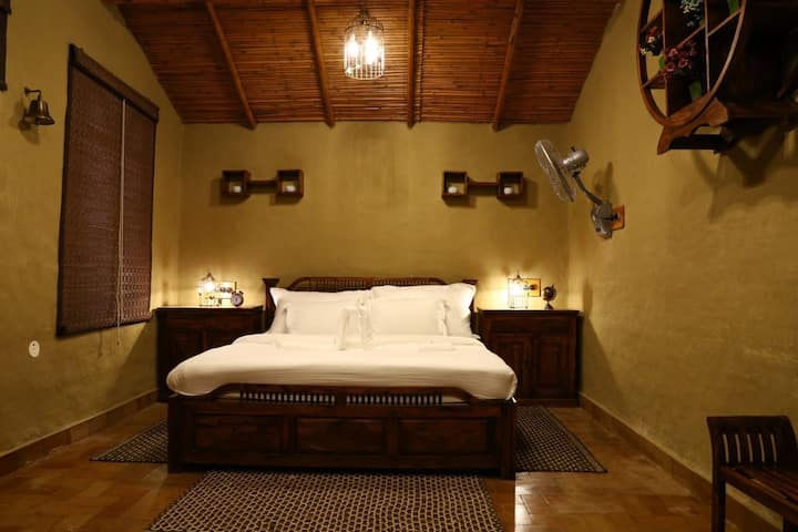 Super Deluxe cottage in Themis Mudhouse Resort(EP)