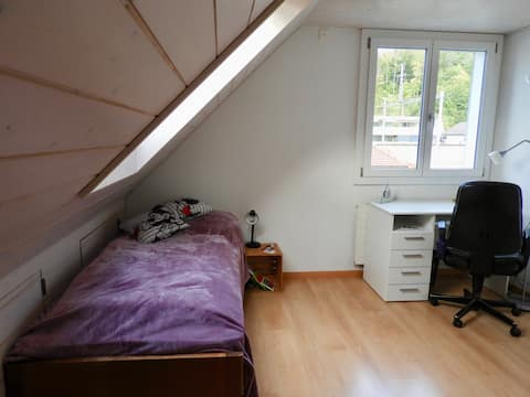 Bright and cozy room close to the city of Bern