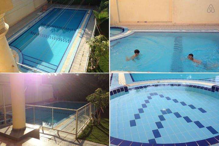 Luxurious Villa with Swimming Pool (Families Only)