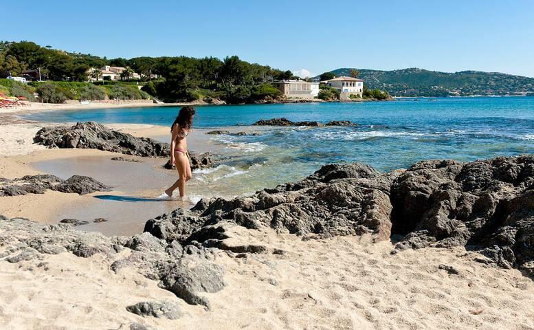Spacieux duplex vacances accès direct à la  plage