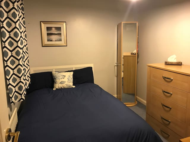Quiet and comfortable single bedroom, Great Ashby