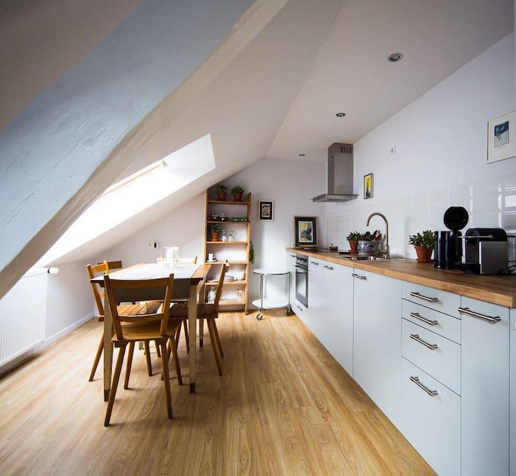 helle dachgeschosswohnung 70 qm basf bg klinik wohnungen zur miete in ludwigshafen am. Black Bedroom Furniture Sets. Home Design Ideas