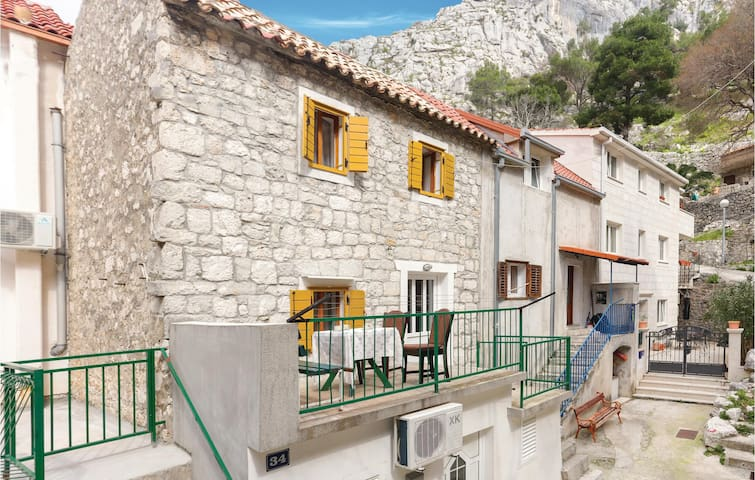 Holiday apartment with 1 bedroom on 44m² in Omis