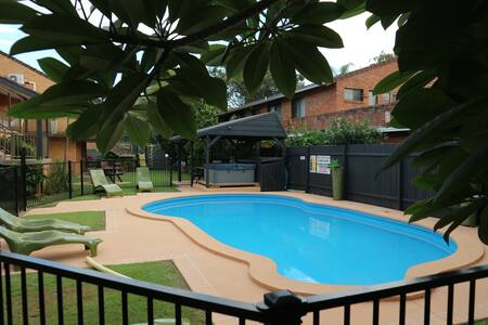 Beach living: two bedroom apartment with pool