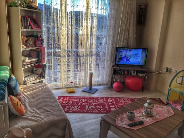 Adada temiz bir oda - Marmara - Lägenhet