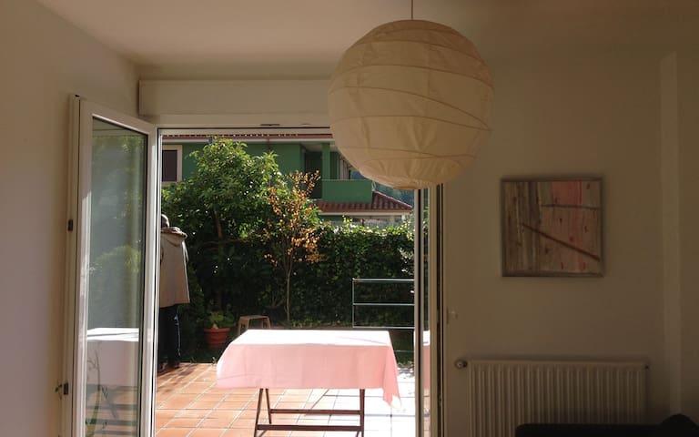 Un Duplex con prado y mar en Luanco - Luanco - Apartamento
