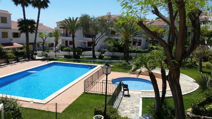 Relaxing environment in Santa Pola del Este!