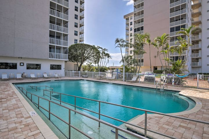 Condo w/ Resort Amenities - Walk to Bonita Beach!
