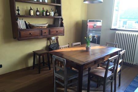 antique/modern spacious apt in centro - Casale Monferrato - Apartemen