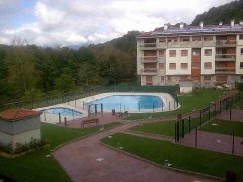 panoramica del recinto de las piscinas