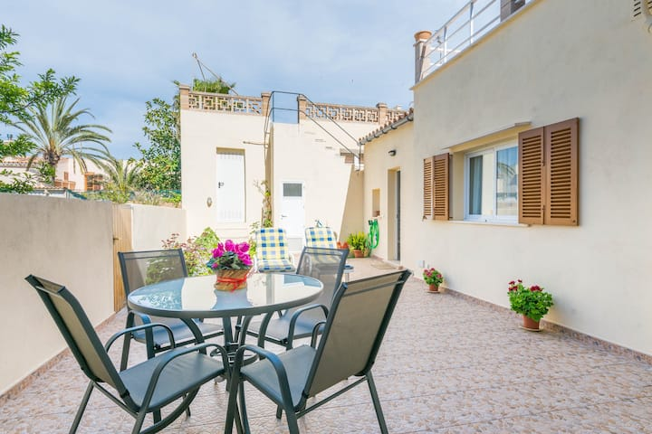 VILA CA SHERMANO - Chalet for 6 people in Colonia de Sant Pere. Free WiFi